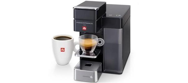 Francis Francis Y5 Duo Single-Serve Coffee/Espresso Machine by ...