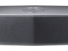 LG Electronics USA today introduced an expanded family of wireless audio products, including the Music Flow P7 ($149), a 20-watt speaker with up to 10 hours of battery life and can be controlled using LG's Music Flow mobile app. (PRNewsFoto/LG Electronics USA)