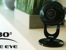 D-Link Ultra Wide-View Cameras provide wall-to-wall surveillance coverage form a single device. (PRNewsFoto/D-Link)