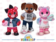 Build-A-Bear Workshop, Inc. has introduced a new collection of scented, make-your-own Sweet Hugs gifts just in time for Valentine's Day. The new Build-A-Bear Workshop Sweet Hugs Heart Bear, Sweet Hugs Swirl Bear and Sweet Hugs Pup have candy-scented fur made possible by Celessence(TM) Technologies. (PRNewsFoto/Build-A-Bear Workshop, Inc.)