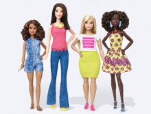 Today, Barbie announced the expansion of its Fashionistas doll line to include three body types - tall, curvy and petite - and a variety of skin tones, hair styles and outfits. With these additions, girls everywhere will have infinitely more ways to play out their stories and spark their imaginations through Barbie. (PRNewsFoto/Mattel)