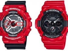 FALL IN LOVE WITH G-SHOCK FOR VALENTINES DAY - RED COLOR THEME (PRNewsFoto/Casio America, Inc.)