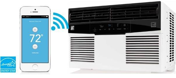 Kenmore Elite Smart Room Air Conditioner Model 77082