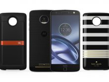Moto Z Droids with Moto Mods (PRNewsFoto/Verizon)
