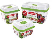 FreshWorks(TM) Keeps Produce Fresher Up to 80% Longer (PRNewsFoto/Rubbermaid)
