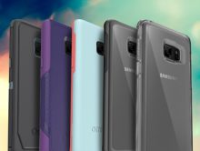 OtterBox cases guard GALAXY Note7 from drops, dings and other mishaps. Symmetry Series and Commuter Series are available now, with Defender Series cases and Alpha Glass screen protectors coming soon. (PRNewsFoto/OtterBox)