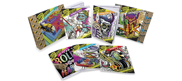 crayola art with edge graffiti coloring pages - crayola art with edge behind the buy