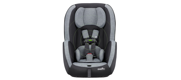 evenflo advanced sensorsafe titan 65 convertible car seat behind the buy. Black Bedroom Furniture Sets. Home Design Ideas