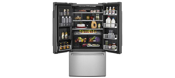 Jenn Airu0027s 72 Inch Counter Depth French Door Refrigerator Features Jenn  Airu0027s Industry Exclusive Obsidian Interior And Wi Fi Connectivity Through  An App For ...