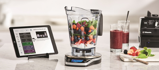 Vitamix perfect blend smart scale recipe app behind for Perfect blend pro scale