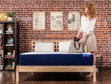 Yogabed UNPLUG(TM) - made with proprietary YogaGel(TM) cooling memory foam technology -- offers a supportive and comfortable mattress to first-time buyers or anyone looking for a quality mattress on a budget. (PRNewsFoto/Yogabed)